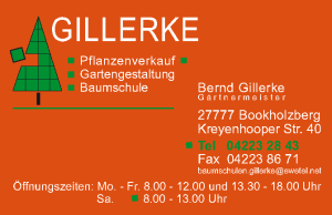 Gillerke Visitenkarte